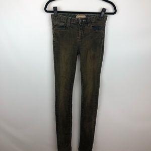Free People distressed skinny jeans